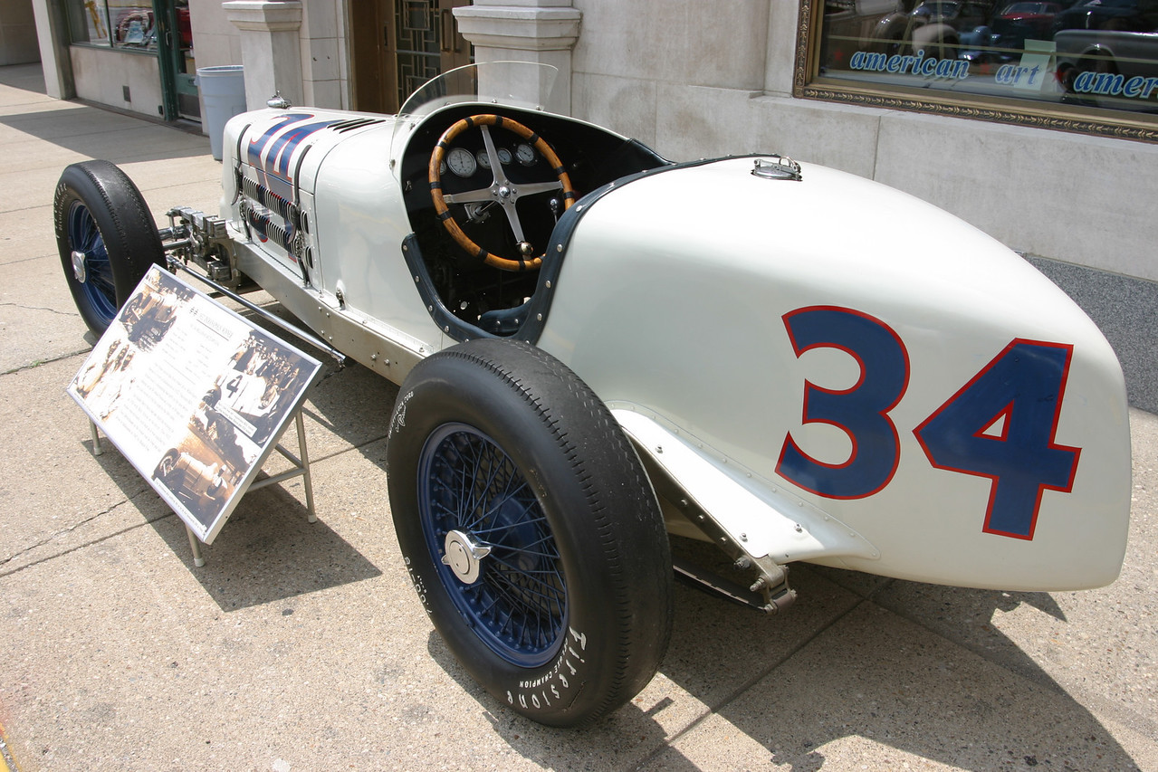 The 1932 Indy 500 Winner shown at Terre Haute Car Show, July 2004.