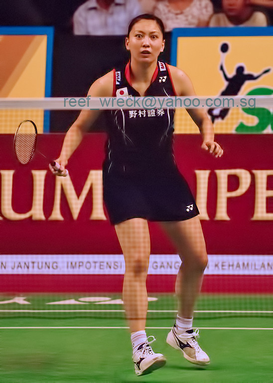 Kumiko Ogura, paired with Reiko Shiota, made up one of the world's top women's badminton duos in 2007.