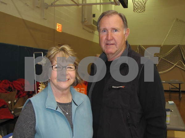 Marita and Doug Spencer have been volunteers for the event for 5 years.