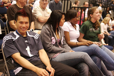 Eric CHen - #1, Libero for NO CLUE  watches the Womens Open Finals