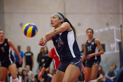 U.S. Women's National Volleyball Training Team Scrimmage (3/14/2014)
