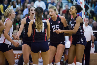 U.S. Women's National Volleyball Team Scrimmage (5/15/2015)