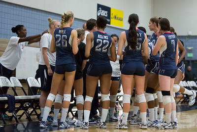 U.S. Women's National Volleyball Team Scrimmage (5/31/2013)