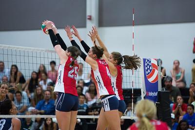 U.S. Women's National Volleyball Team Scrimmage (6/5/2014)