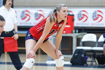 U.S. Women's National Volleyball Training Team Scrimmage (7/23/2011)