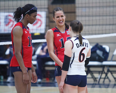 U.S. Women's National Volleyball Training Team Scrimmage (7/30/2011)