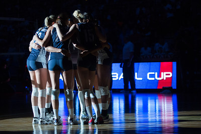 USA Volleyball Cup - United States vs Brazil #1 (7/5/2014)