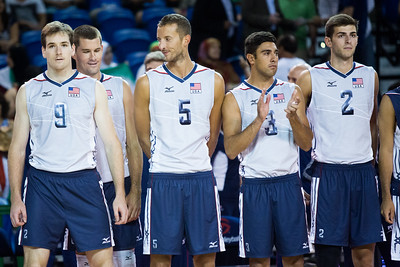 USA Volleyball Cup - United States vs Iran (8/16/2014)