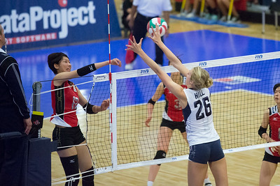 USA Volleyball Cup - United States vs Japan (7/13/2013)