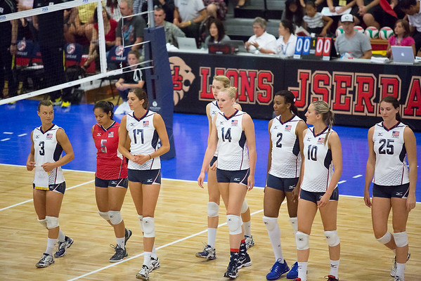 Courtney Thompson, Danielle Scott, Jordan Larson, Kelly Murphy, Kim Hill, Lauren Paolini, Nicole Fawcett, Tamari Miyashiro