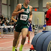 Nashoba Regional High School senior mark Puleo competes in the two mile during the Don Woods Memorial Invitational meet at Fitchburg High School on Saturday. SENTINEL & ENTERPRISE/ JOHN LOVE