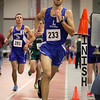 Leominster High School senior Travis Spinelli competes in the two mile during the Don Woods Memorial Invitational meet at Fitchburg High School on Saturday.SENTINEL & ENTERPRISE/ JOHN LOVE