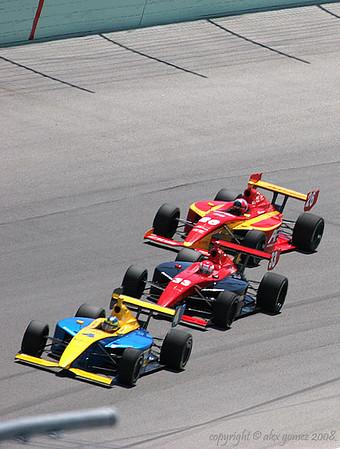 IndyPro Car Race - 2008 Homestead-Miami Speed Jam