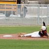 ITM#1 Logan Pieper slides safely into third base.