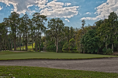 18th Hole at the Island Golf Course Innisbrook Fl   Oct 2011
