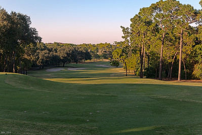 1st Hole at Copperhead  Innisbrook