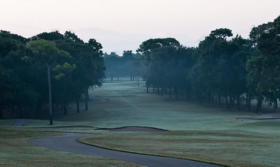 Copperhead 18th Hole at Dawn Oct 2010