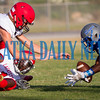 Rams Thomas Mack (4) recovers a Lafayette fumble in the first quarter. Fran Ruchalski/Palatka Daily News