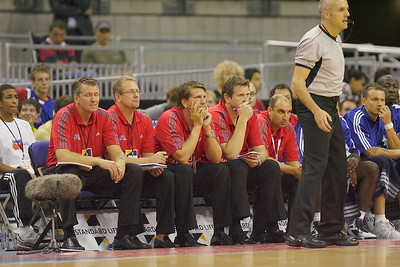 Chris Finch (Great Britain coach) and coaching team