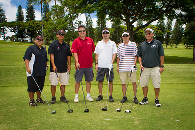 Golfers participate in the Eddie Hamada Golf Tournament at Pearl Country Club, Pearl City, HI, on July 26 2013. Photo: Brandon Flores.