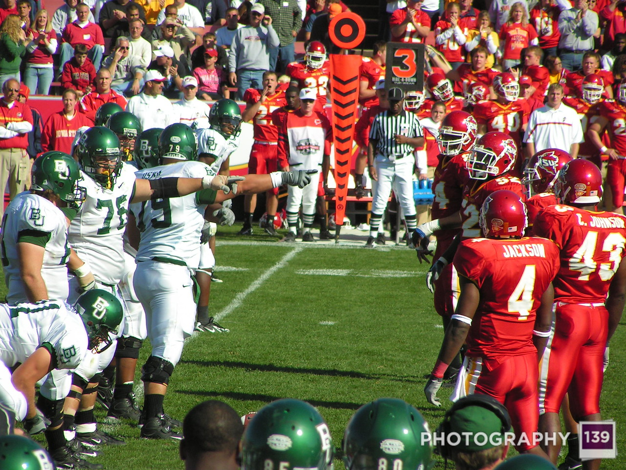 Iowa State vs. Baylor - 2005