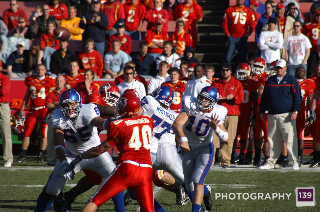 Iowa State vs. Kansas 2006