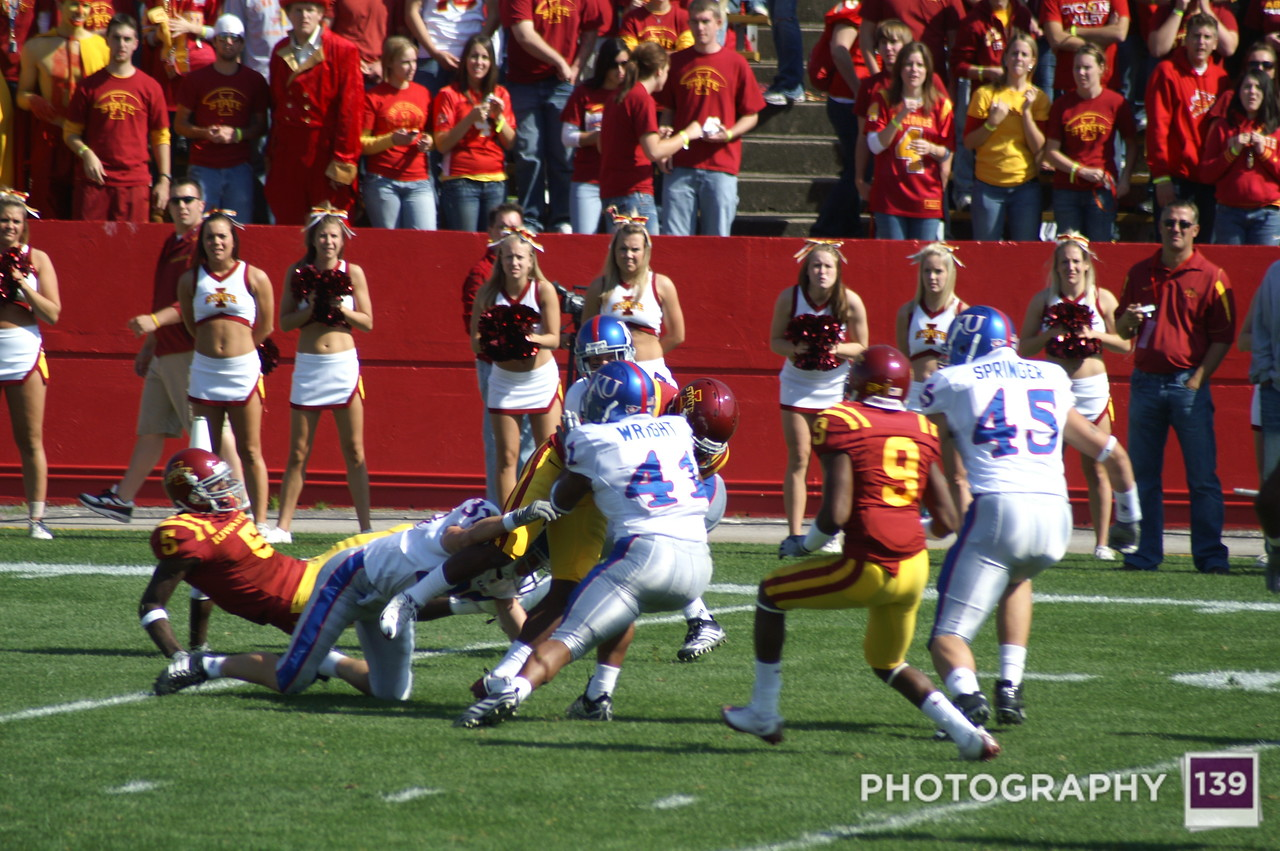 Iowa State vs. Kansas