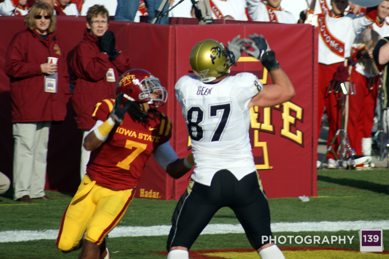 Iowa State vs Colorado - 2009