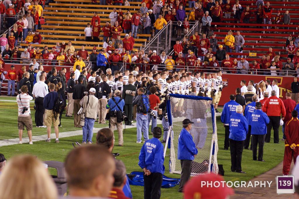 Iowa State vs. Army - 2009