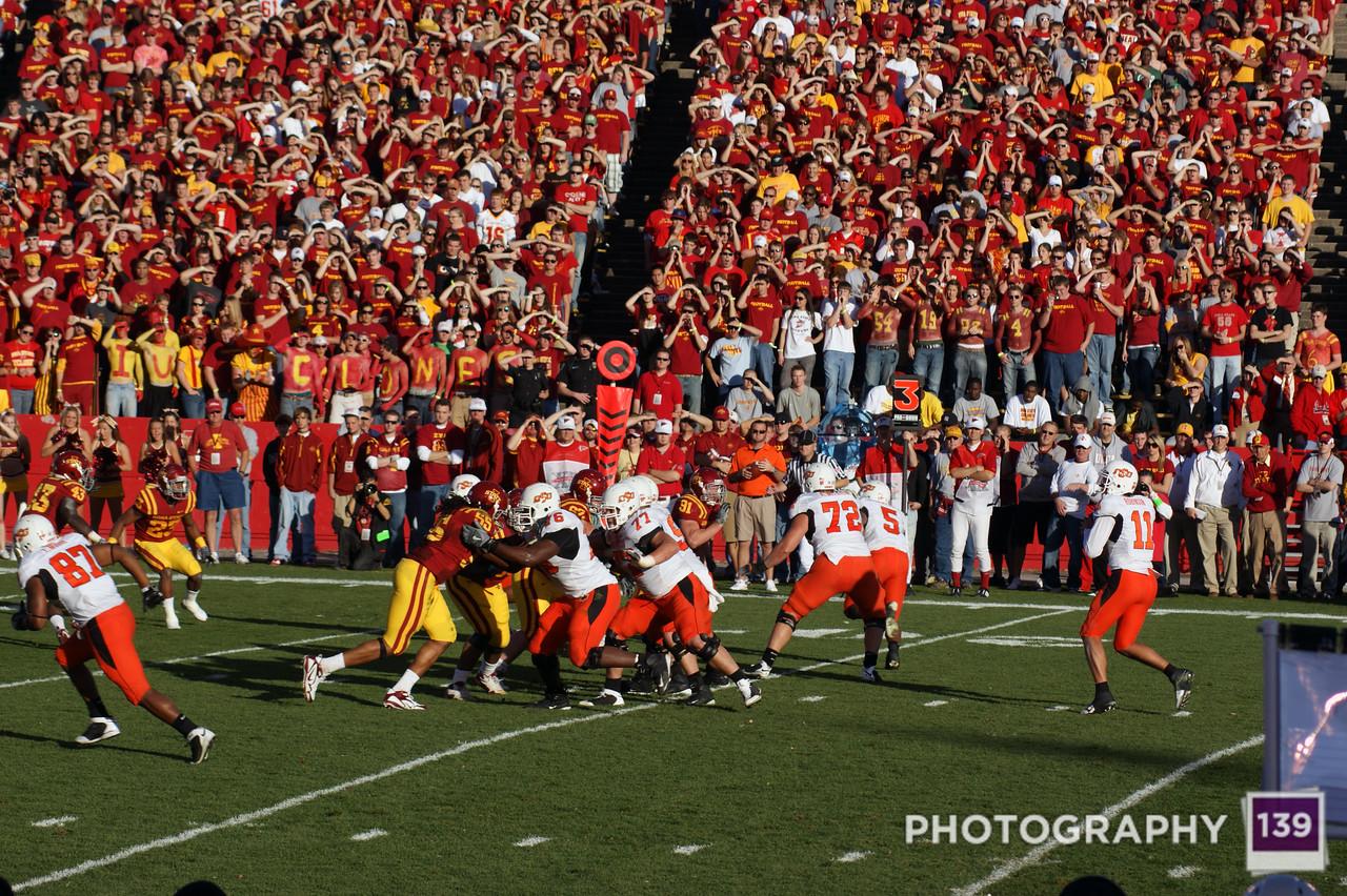 Iowa State vs. Oklahoma State - 2009