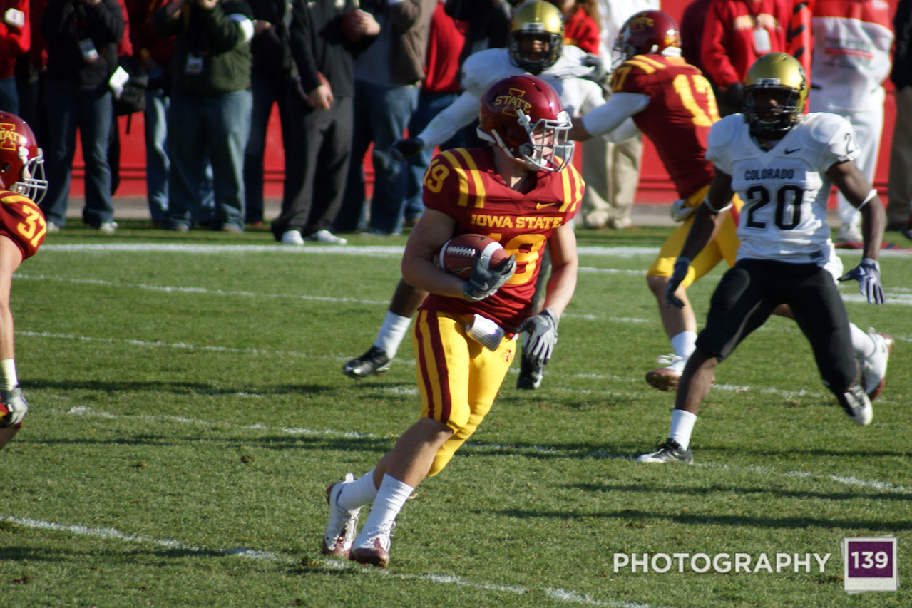 Iowa State vs Colorado - 2009