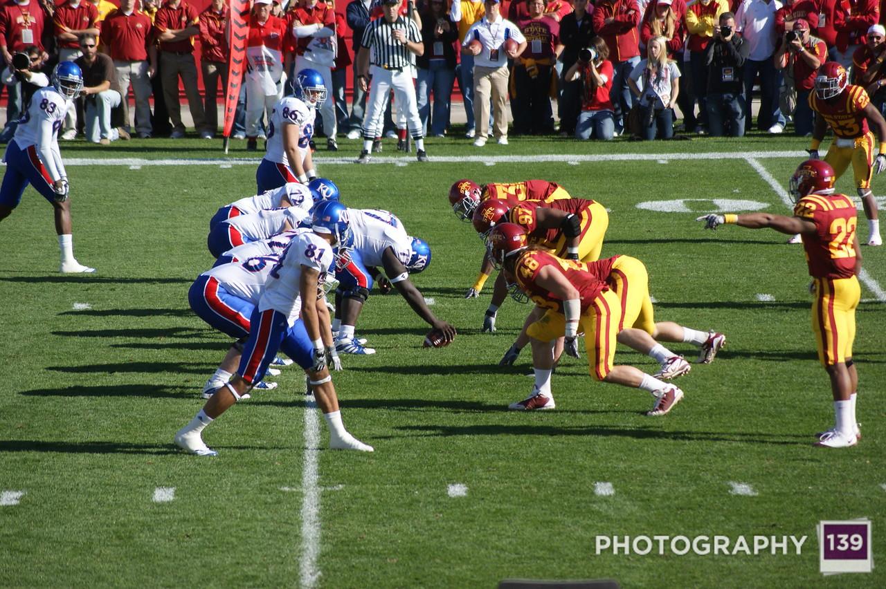 Iowa State vs Kansas - 2010