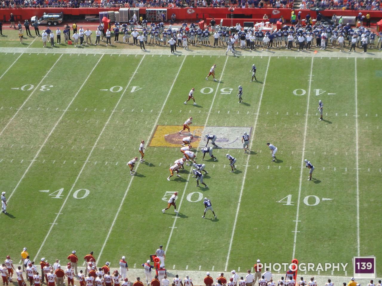 Iowa State vs. Kansas State - 2010