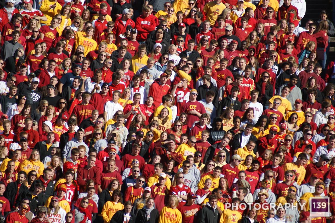 Iowa State vs Nebraska - 2010