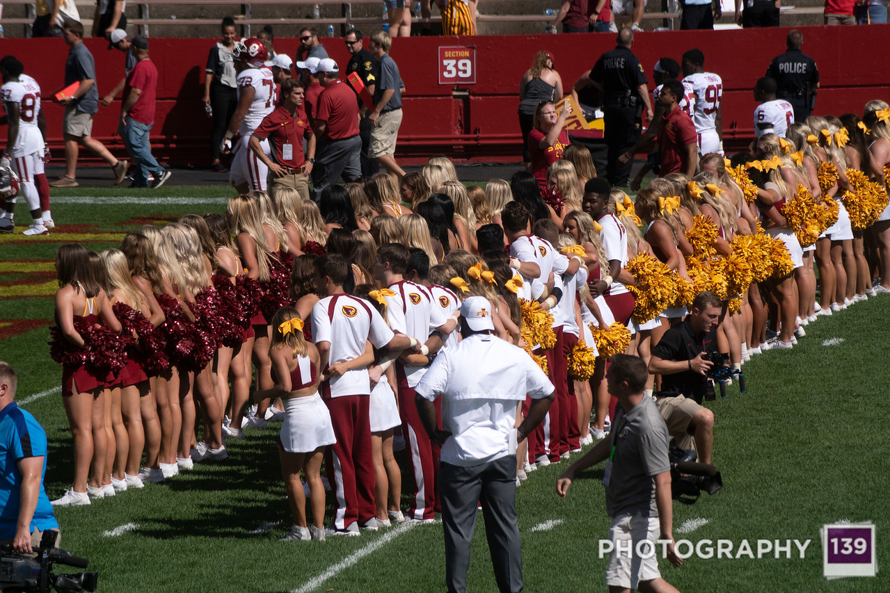 Iowa State vs. Oklahoma = 2018