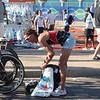 Crissie Wellington - Campeona Mundial de Ironman. Hizo la maraton mas rapido que el que gano el IM de Sudafrica. Una bestia.