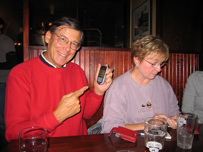 Parents on cell phones!