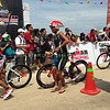 Participants joining Ironman 70.3 Philippines 2014 finish bike leg