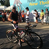 Justin Granger starts the 90K bike leg of Ironman 70.3 Philippines