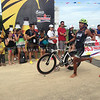Triathlete finishes bike race of Ironman 70.3 Philippines
