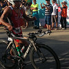 Filipino elite Jonard Saim leading in Ironman 70.3 bike race
