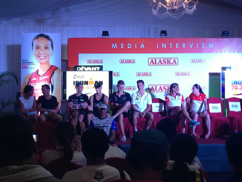 Meet the Ironman 70.3 Philippines 2014 Champs press conference