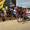 Filipino elite Jenny Rose Guerrero finishes the bike race