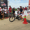 Justin Granger finishes bike race of Ironman 70.3 Philippines