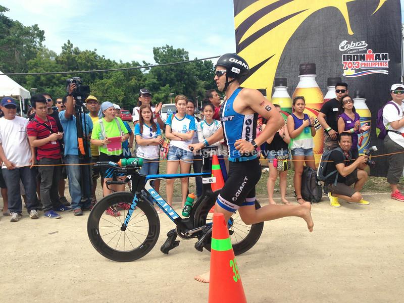 Professional triathlete Matt Burton joins Ironman 70.3 Philippines