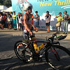 Belinda Granger among the professional triathletes to start the bike early