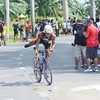 Filipino elite August Benedicto joins the Cobra Energy Drink Ironman 70.3 Philippines in Cebu.  He placed first among the Filipino elites who joined the triathlon. (Sun.Star Photo)
