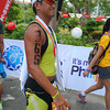 CEBU. John Omar Paredes reaches the finish line smiling.