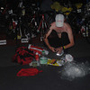 CEBU. A participant does last minute check of his gears a few hours before the race.