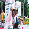 August Benedicto was the first Filipino elite to cross the finish line in Sunday's (August 5, 2012) Cobra Energy Drink Ironman 70.3 Philippines held at Shangri-La Mactan Resort and Spa in Cebu. (Sun.Star Photo)